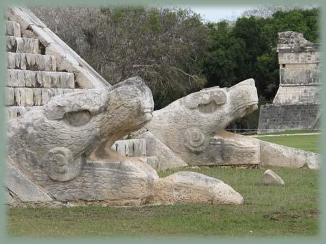 Mexique - Dieu Quetzalcóatl