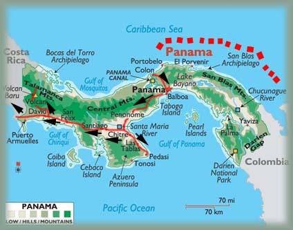 voyage au panama-