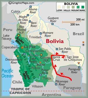 Bolivia fotos las misiones jesu ticas de la chiquitan a for Donde queda santa cruz