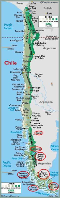 Les BOULINGUEURS..de la PLANETE.... Chili_map