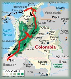 Les BOULINGUEURS..de la PLANETE.... Map_3-colombie