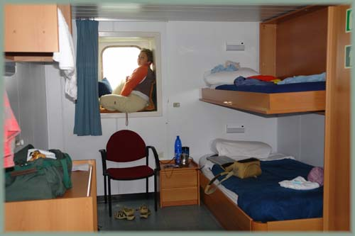 Cargo france argentine grimaldi havre buenos aires 4x4 for Camarote interior grimaldi