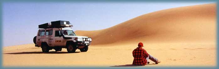 préparez a travers le désert