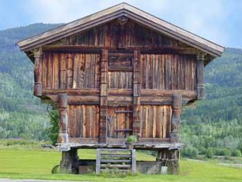 construction bois debout
